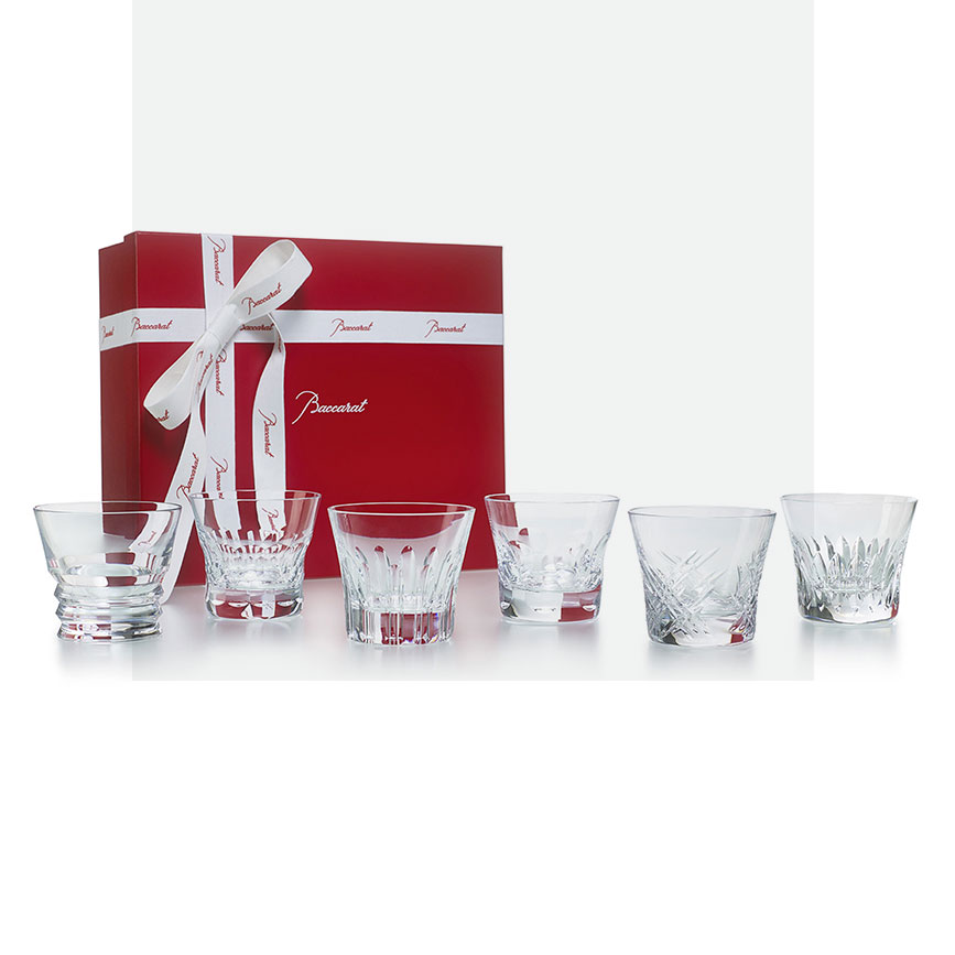 Everyday Baccarat, set of 6 tumblers